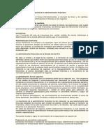 Capitulo 1 Panorama General de La Administración Financiera