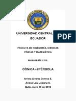 Conicas_Hipérbola