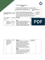Planificación Clase a Clase Unidad Cero 2015