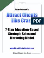 Step Strategic Marketing Model