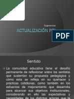 Proyecto de Actualización PEI