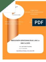 SINOPSIS REFLEXIVA DE LA EPISTEMOLOGIA EN LA EDUCACION.docx