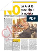 La edición de Clarín del 11 de julio de 2001