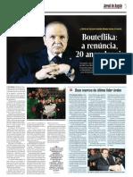 Bouteflika a Renúncia 20 Anos Depois