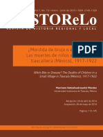 Mordida de bruja o enfermedad. Las muertes de niños en un pueblo tlaxcalteca 1917-1922.pdf