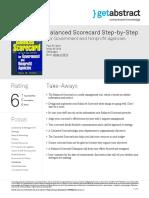 Balanced Scorecard Step by Step Niven en 3816