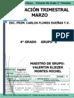 4°B MARZO MTRO ELIEZER