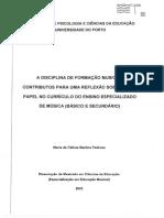 72 Para Um Conceito de Formação Musical - Fátima Pedroso