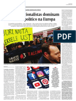 Partidos Nacionalistas Dominam o Debate Político