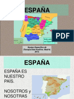Algunas ideas sobre España....ppt