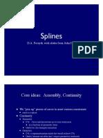 Splines 1