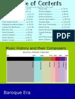 Gen. Music Composer PowerPoint