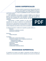 ACABADOS - SUPERFICIALES