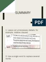 Summary Form 4