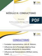 Mòdulo III. Conductismo.pptx