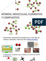 Atomos, Moleculas, Elementos y Compuestos