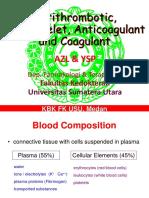 K33- Antithrombotic, Antiplatelet, Anticoagulant and Coagulant