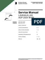 Whirlpool Lavavajillas Service Manual