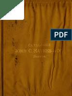 Catalogue John C. Haynes & Co.