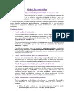 criterios diseño producción
