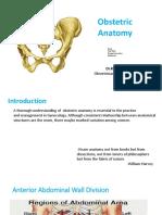Obstetric Anatomy