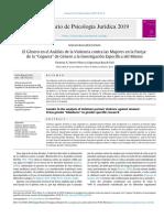 """El género en el análisis de la violencia contra las mujeres en la pareja- de la """"ceguera"""" de género a la investigación específica del mismo..pdf"""