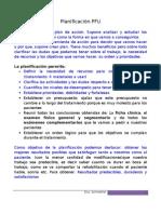 3 (168) Planificacion del tratamiento PFU Lista