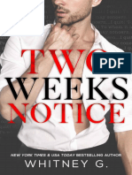 Two Weeks Notice (Papa Livros)
