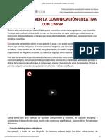 Cómo Promover La Comunicación Creativa Con Canva