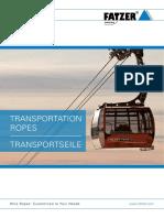 En de Transportation Ropeway Ropes FATZER AG Wire Ropes 03 2017
