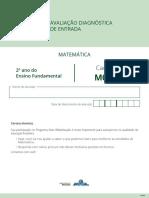 M0209 Aluno Matemática 2º Ano