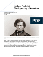 famous speeches- frederick douglass  22the hypocrisy of american slavery 22  790l