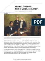 famous speeches- frederick douglass  22men of color to arms  22  830l
