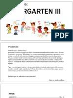 Kindergarten3 Book