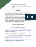 Lei orgânica do municipio de Marabá
