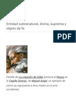 Dios - Wikipedia, La Enciclopedia Libre