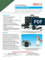Geopump Peristaltic Pump Spanish