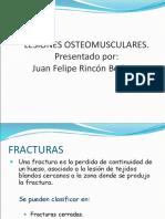 lesiones ostemusculares