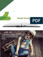 Dossier de Prensa 2016