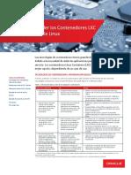 Guía para Entender los Contenedores LXC y Docker en Oracle Linux