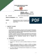 Directiva Ingenieria Biomedica No. 041