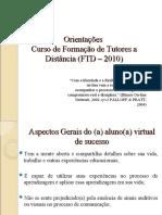 Apresentação - O aluno virtual PALLOFF & PRATT