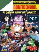 Panini Confidencial 40