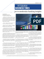 Profile of CompleteBankData in the Pittsburgh Business Times