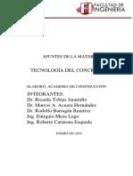 Apuntes Tecnologia del concreto.pdf