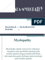 ASKEP  MYELOPATHY