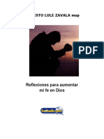 Reflexiones Para Aumentar Mi Fe en Dios (Modesto Lule Zavala)