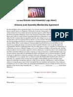 arizona jural assembly membership agreement