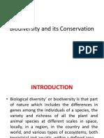 Biodiversity Notes