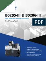 Tsugami B0205 206 III Focus Brochure